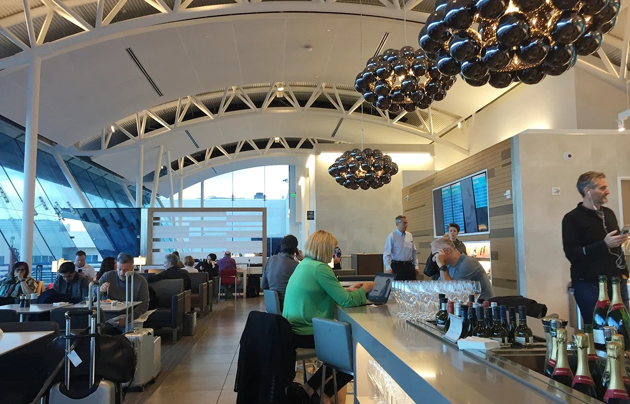 Review American Airlines Flagship Lounge At Lax
