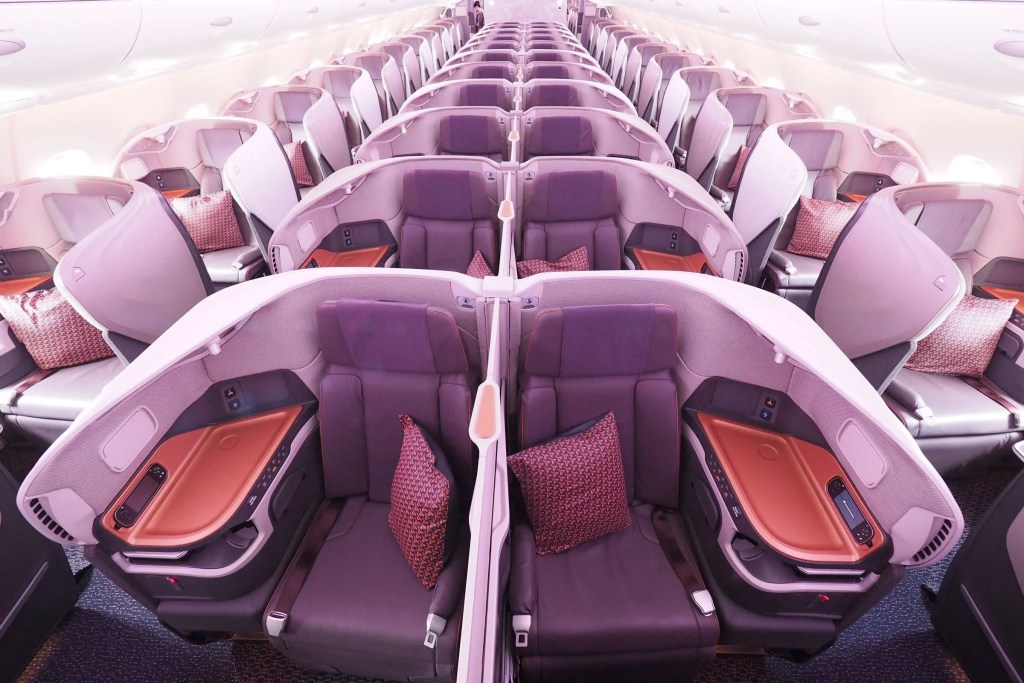 A Review of Singapore\'s New A380 in Business Class