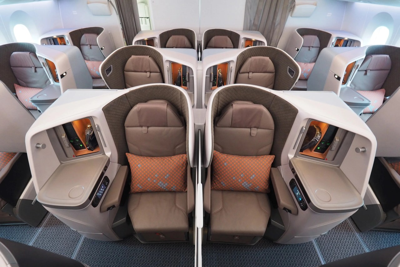 How to Use Miles to Fly Singapore's Brand-New 787-10 Business Class