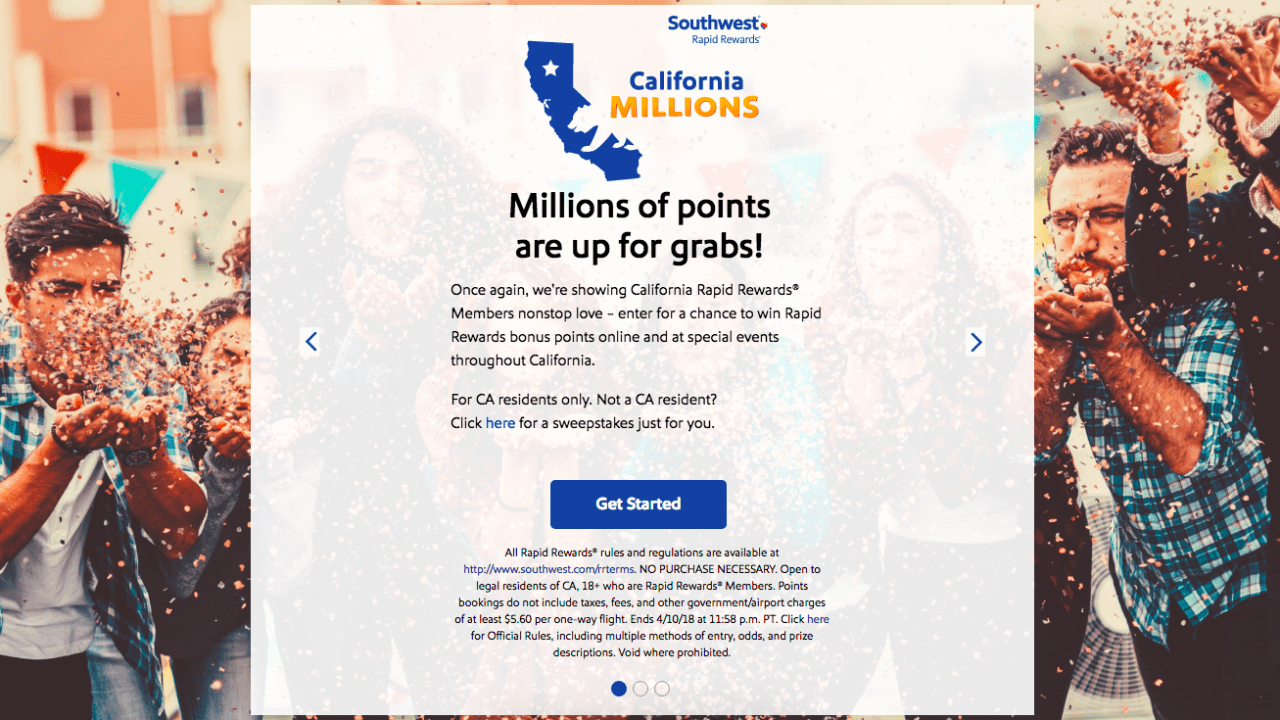 Southwest California Millions Sweepstakes is Back - For Non-CA