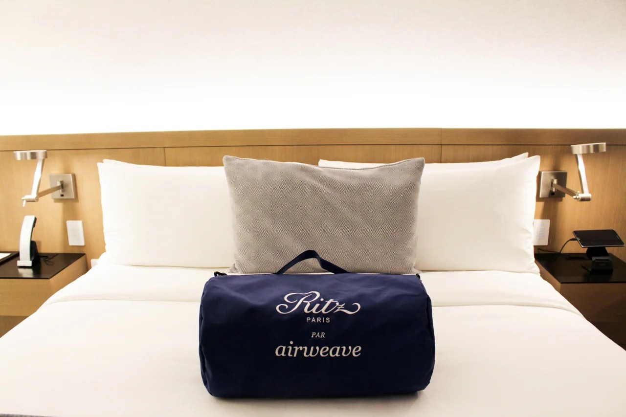 Product Review The Ritz Paris Collection By Airweave In Traveler