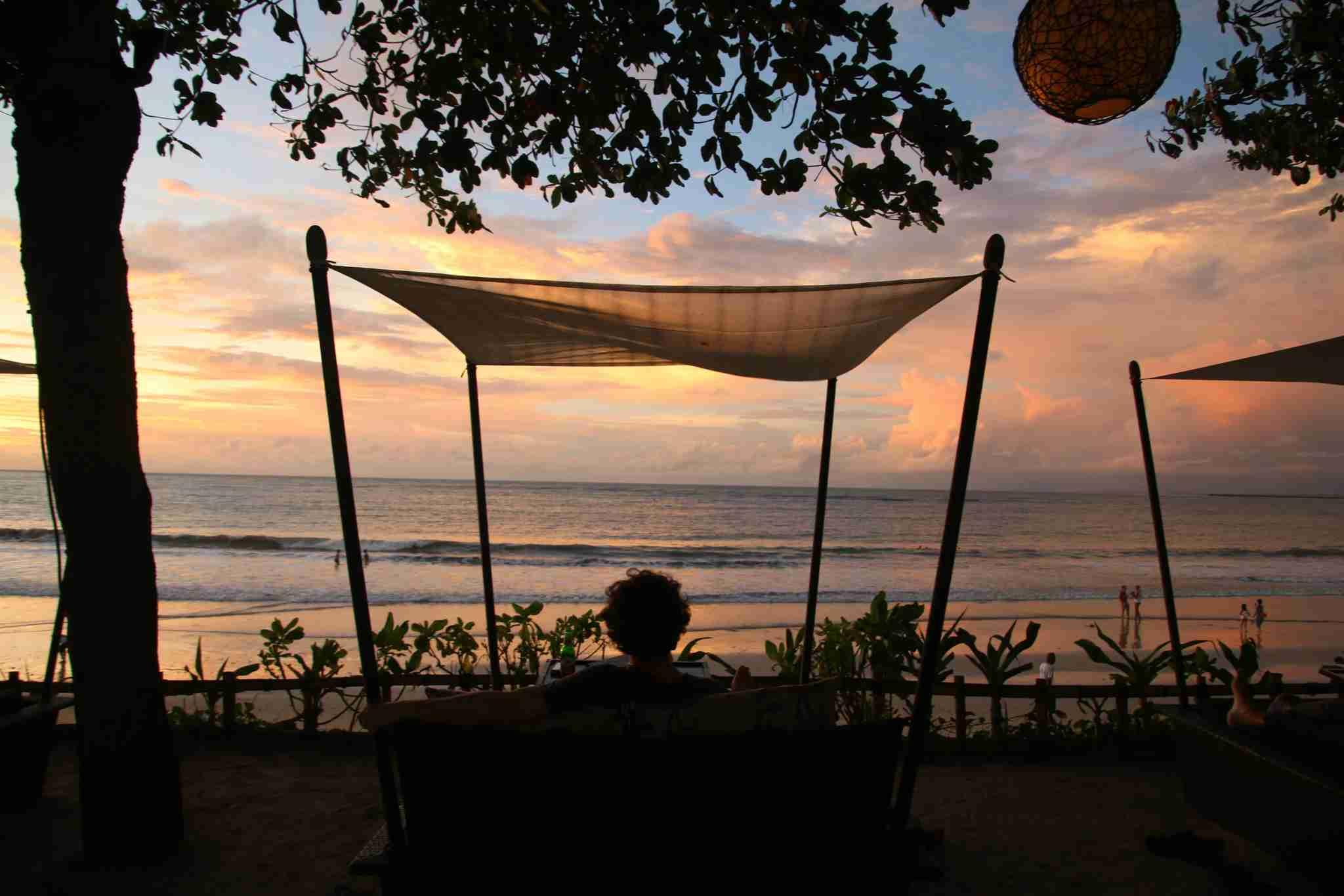 During a month of travel in Bali, I spent one night at the InterContinental - relaxing and not leaving the property for over day, including two sunsets.