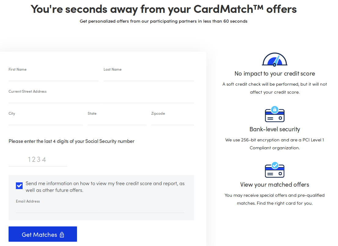 Use The CardMatch Tool to Get Even Better Sign-Up Offers