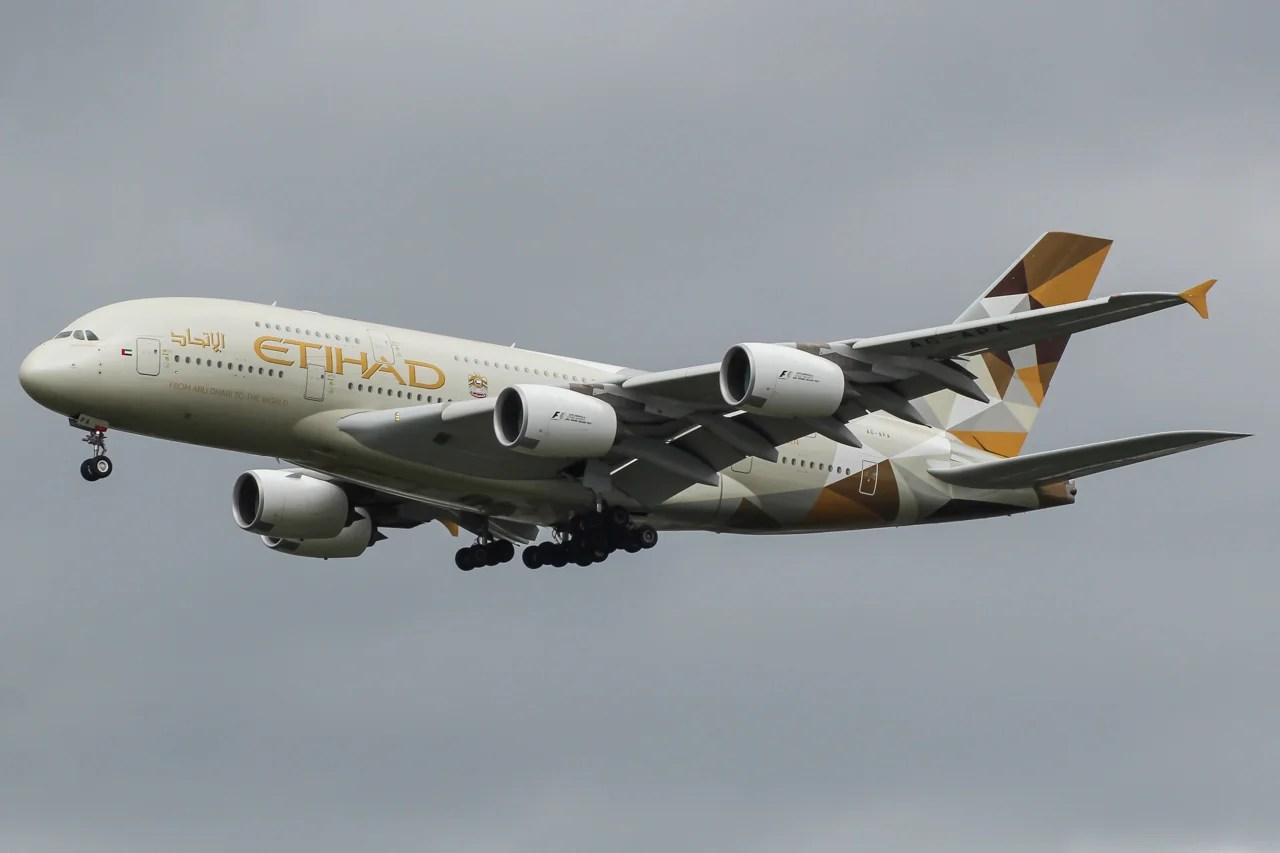 Etihad A380 Makes Emergency Landing At Keflavik Airport