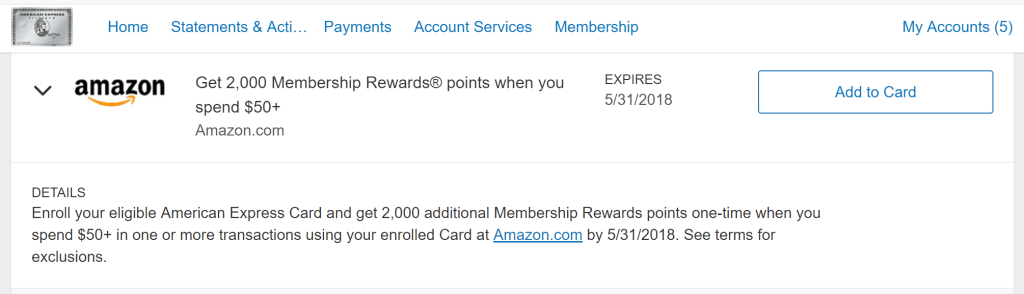 Get 11,11 Bonus Points for Spending $11 or More at Amazon