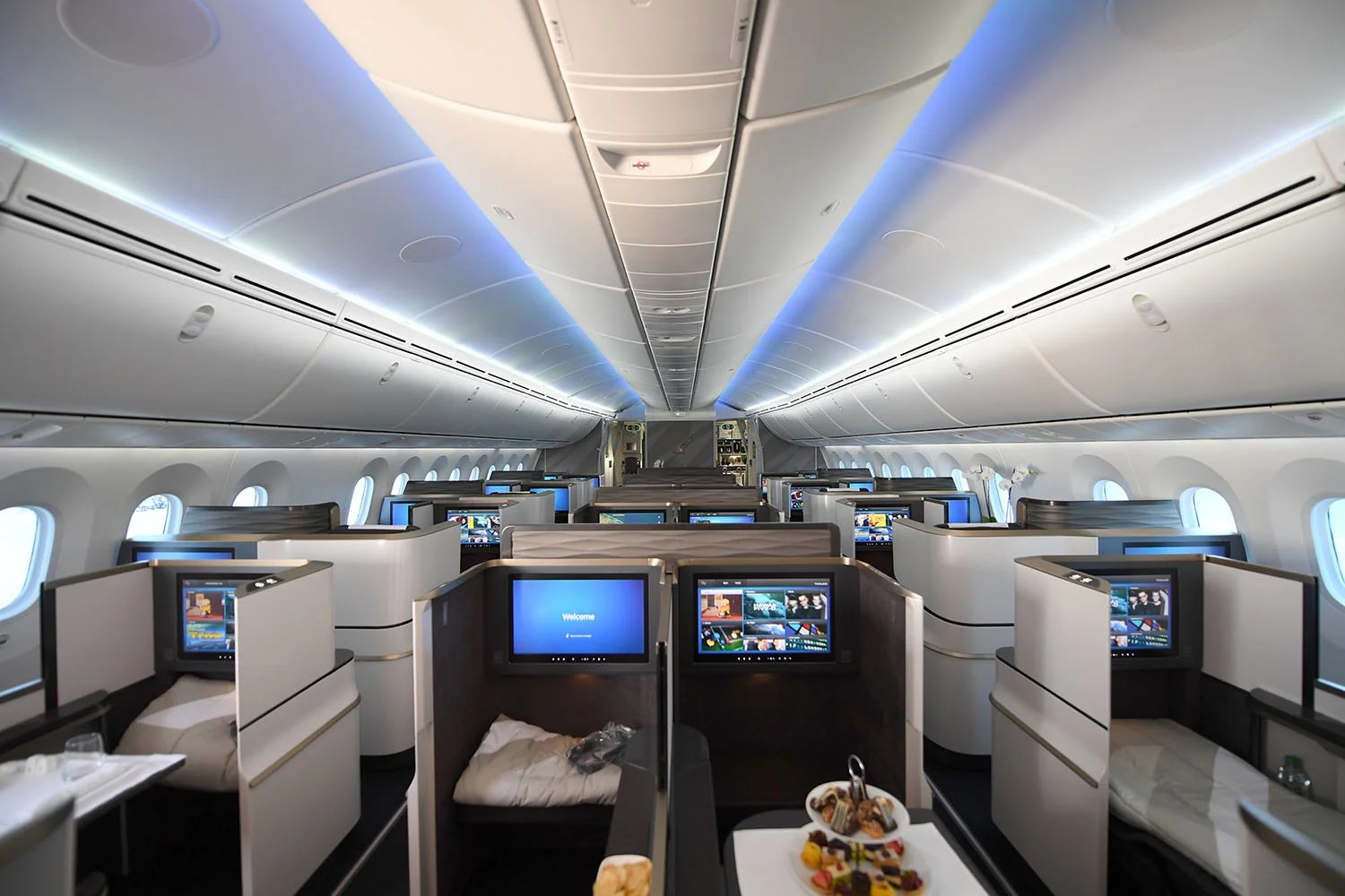 Gulf Air\'s New 787 Business Class Is Amazing