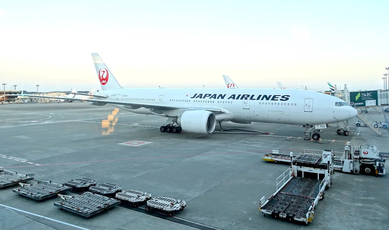 d708eb55508a Review  Japan Airlines (777-300ER) Business Class From LA to Tokyo