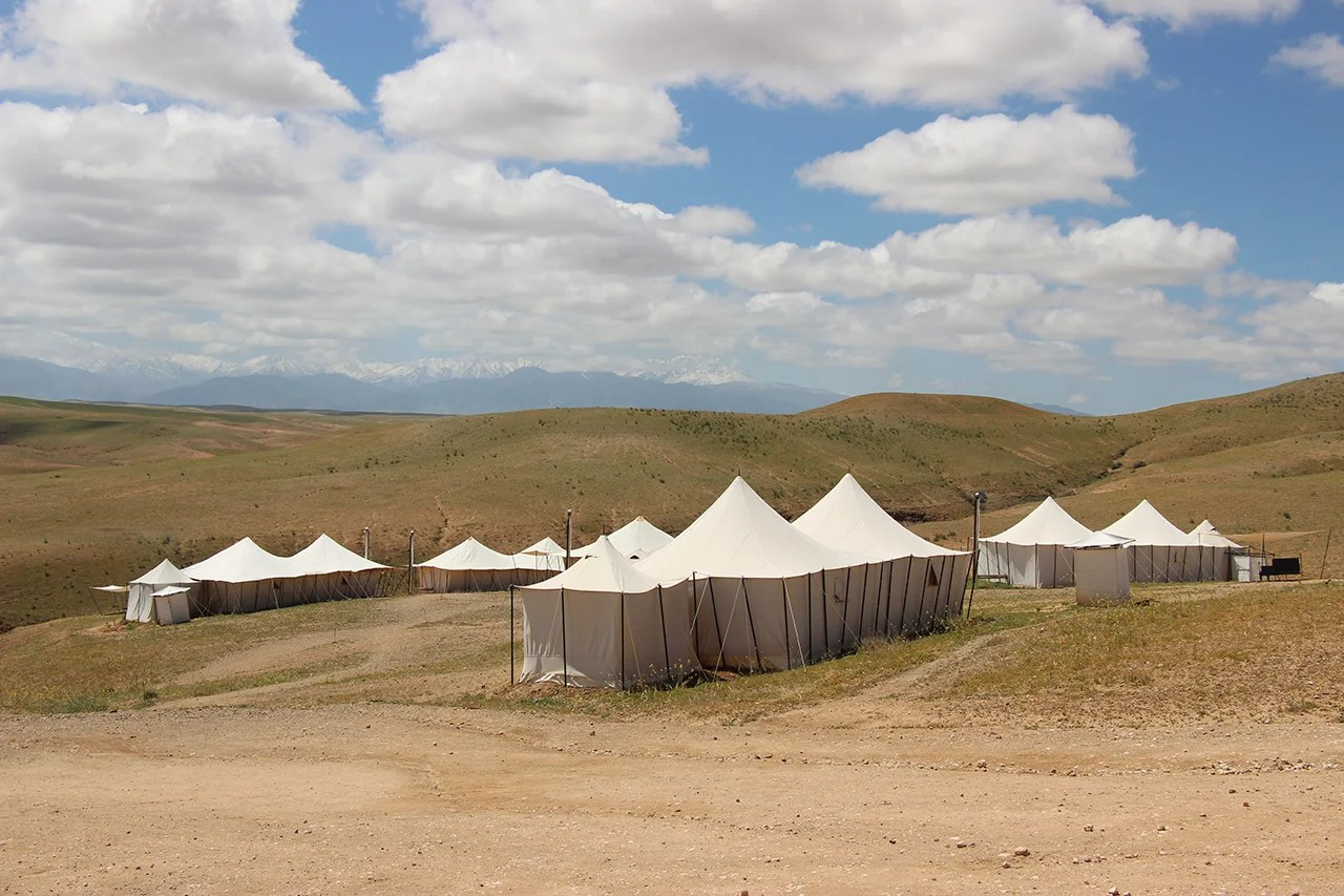The World's Most Unusual Hotels: Glamping at Scarabeo Desert Camp in Morocco