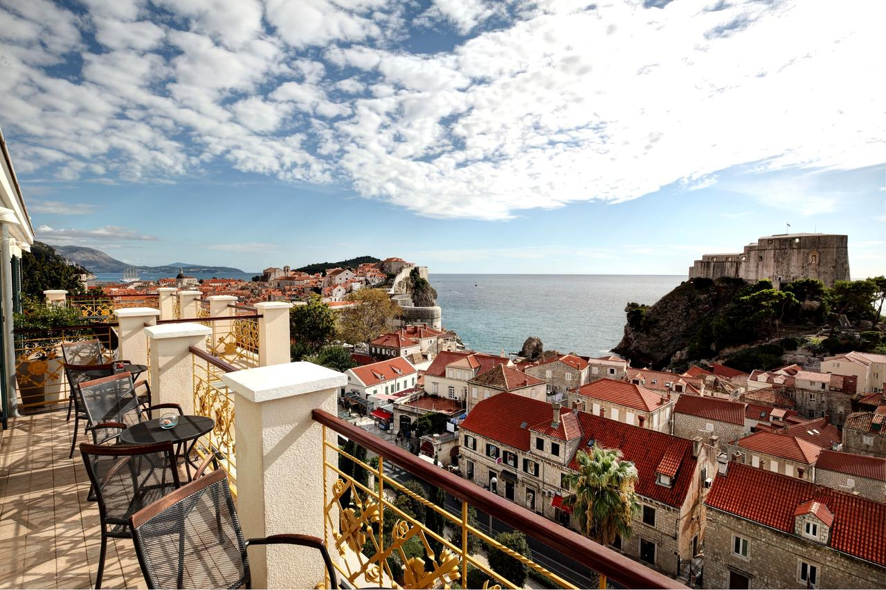View from the Hilton Imperial Dubrovnik. (Courtesy of Hilton Imperial Dubrovnik)