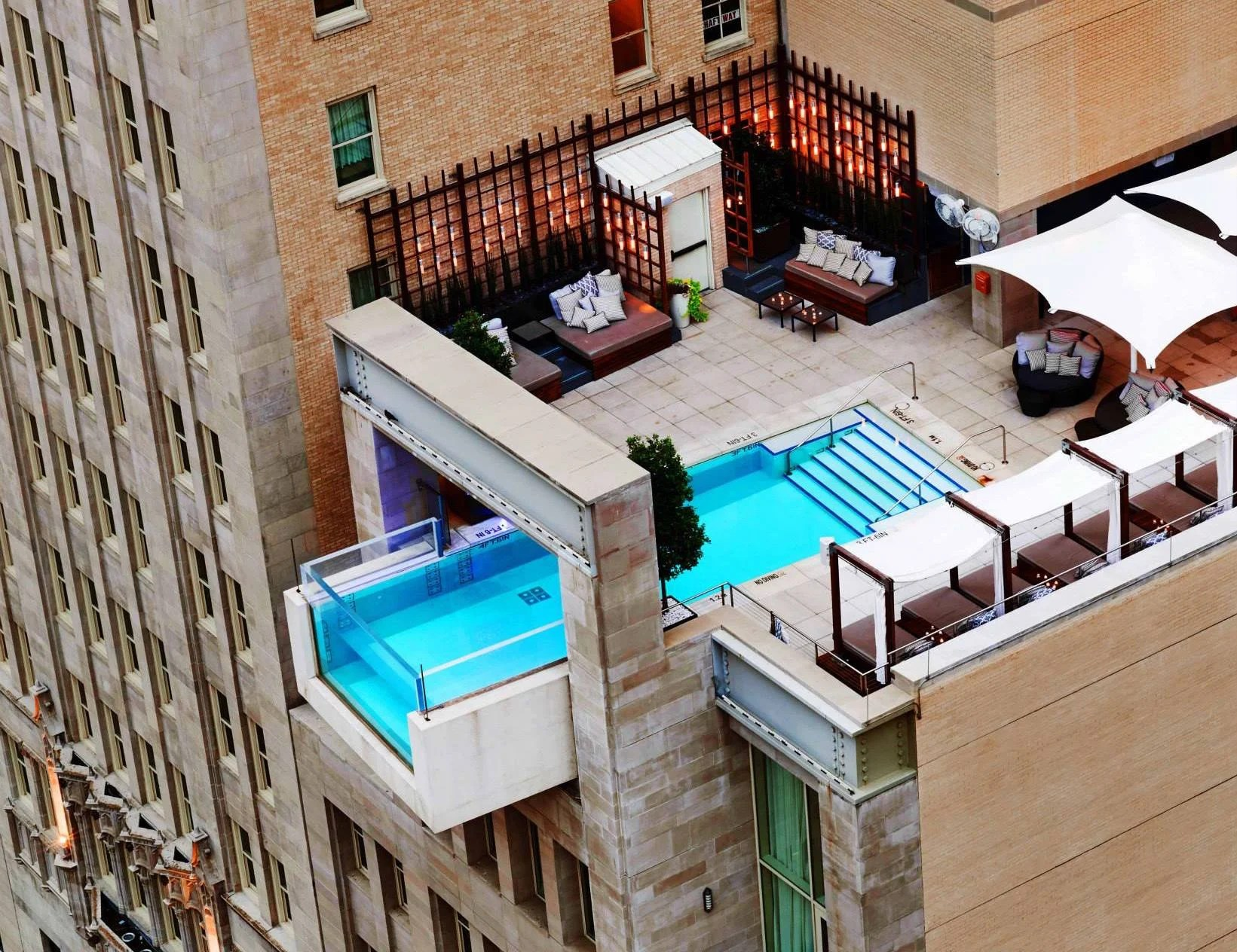 Infinity pools hotel Backyard Image Courtesy Of The Joule The Points Guy 12 Of The Most Beautiful Infinity Pools From Around The World