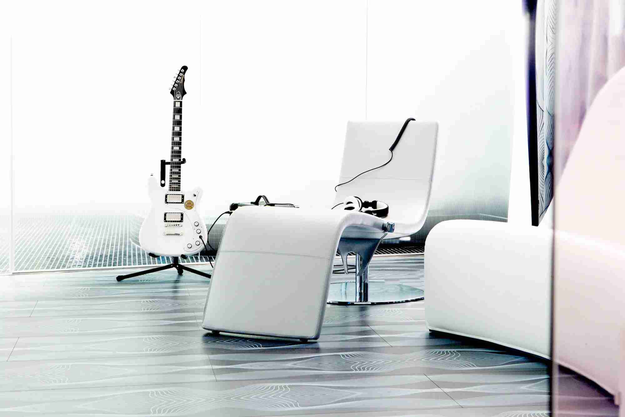 Rock out at the Hotel nhow Berlin. Image courtesy of Hotel nhow Berlin.