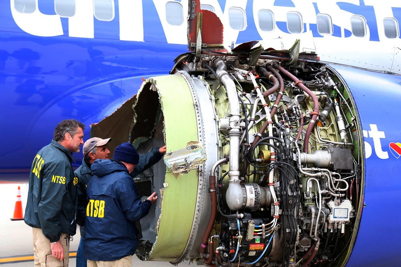 Airlines Around the World Checking Boeing 737 CFM56 Engines