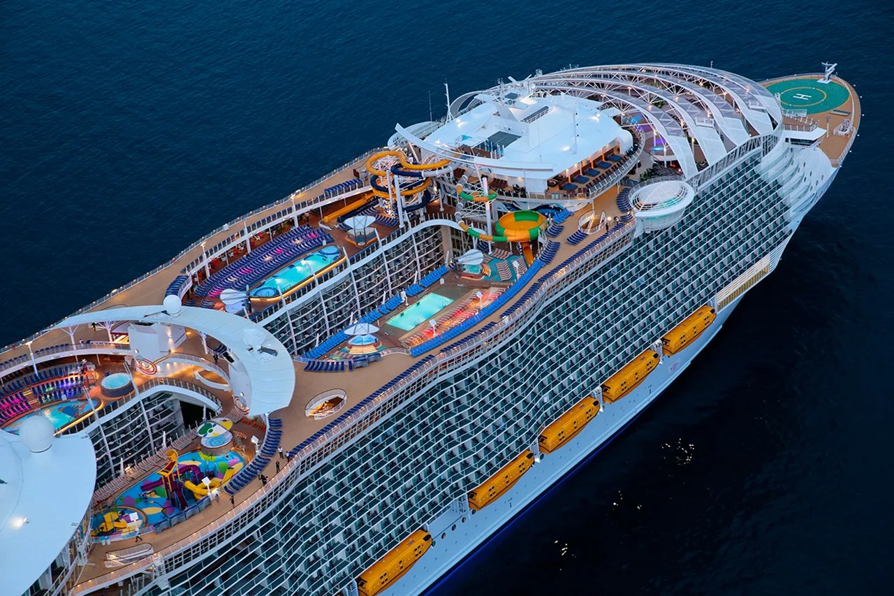 Take a Tour of the Biggest Cruise Ship in the World