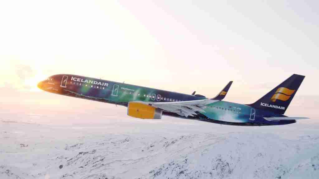 Photo courtesy of Icelandair