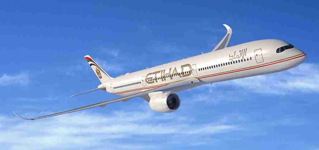 Etihad ordered 62 Airbus A350s, but may never take a delivery of a single one. Image courtesy of Airbus.