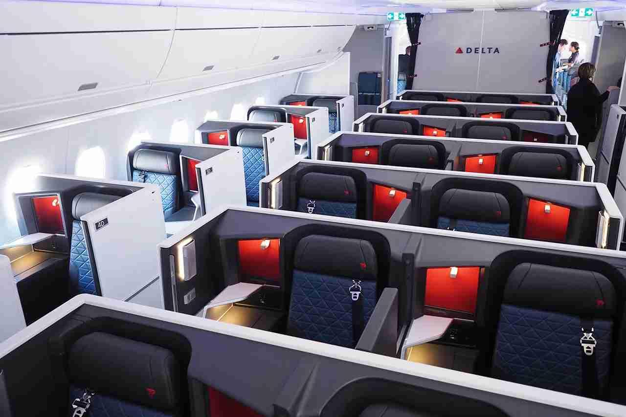 Delta A350 Suite