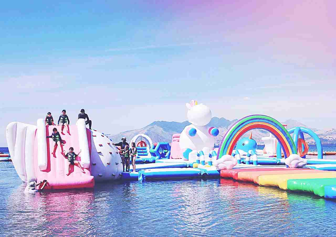 (Photo courtesy of The Inflatable Island)
