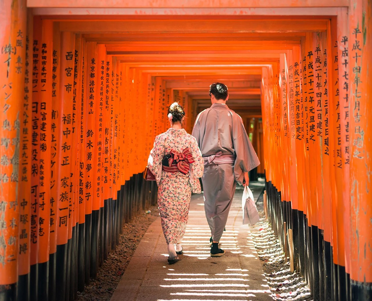 Kyoto Japan Honeymoon Destinations 2018. (Photo by George Clerk via Getty Images)