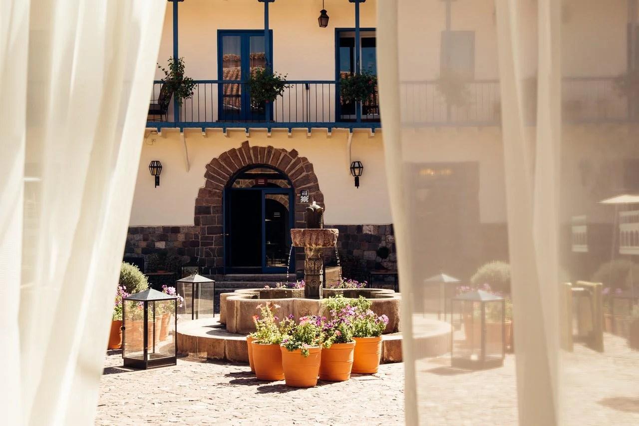Palacio del Inka Luxury Collection Resort, Cuzco, Peru. (Photo courtesy of Palacio del Inka Luxury Collection Resort.)
