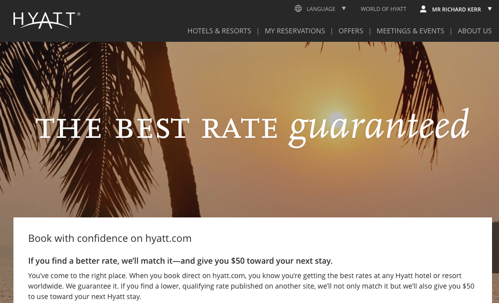 It's Time for a Reckoning of the Hotel Best Rate Guarantee