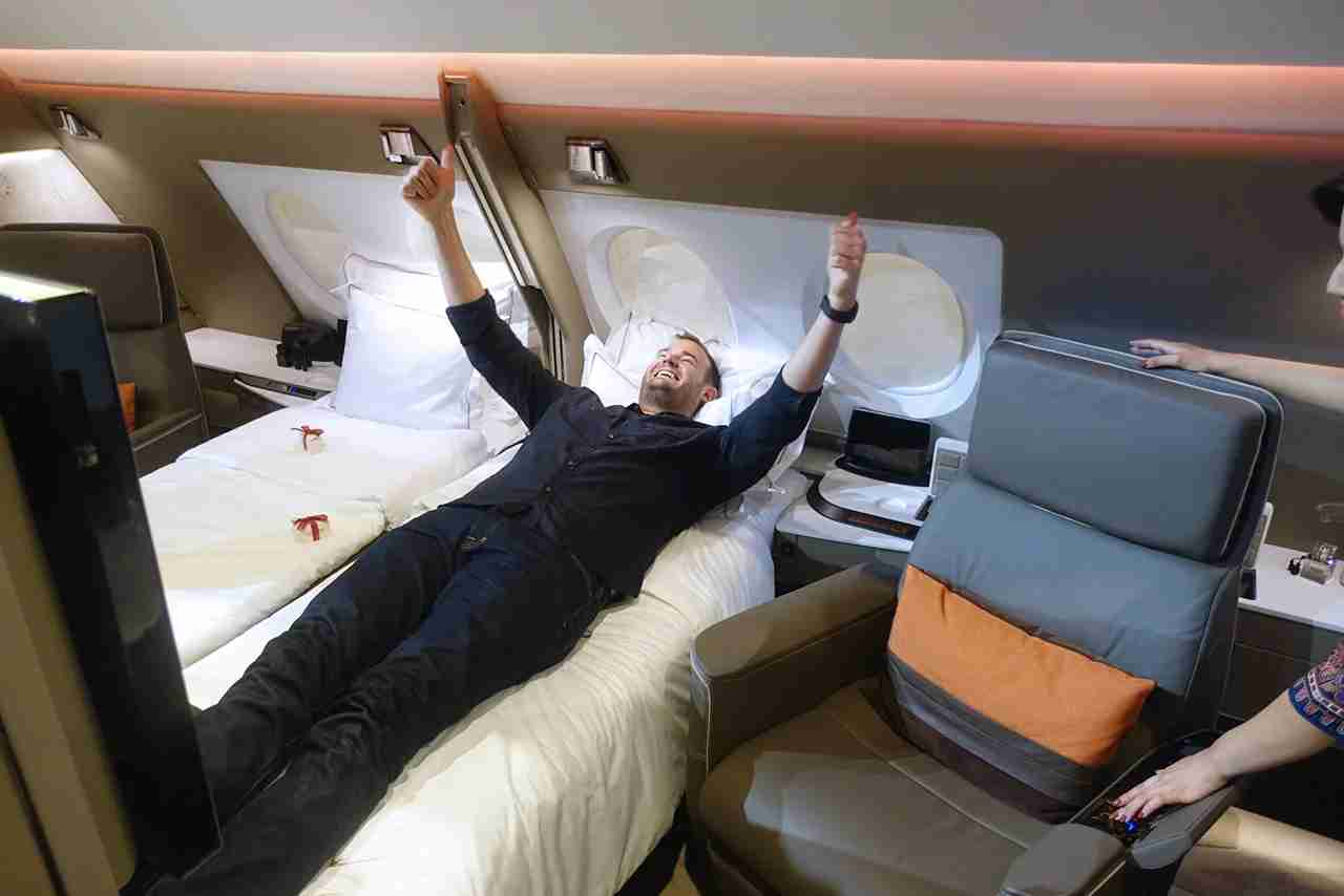 You can redeem your Membership Rewards for amazing award flights through transfer partners — including premium class suites on Singapore Airlines.