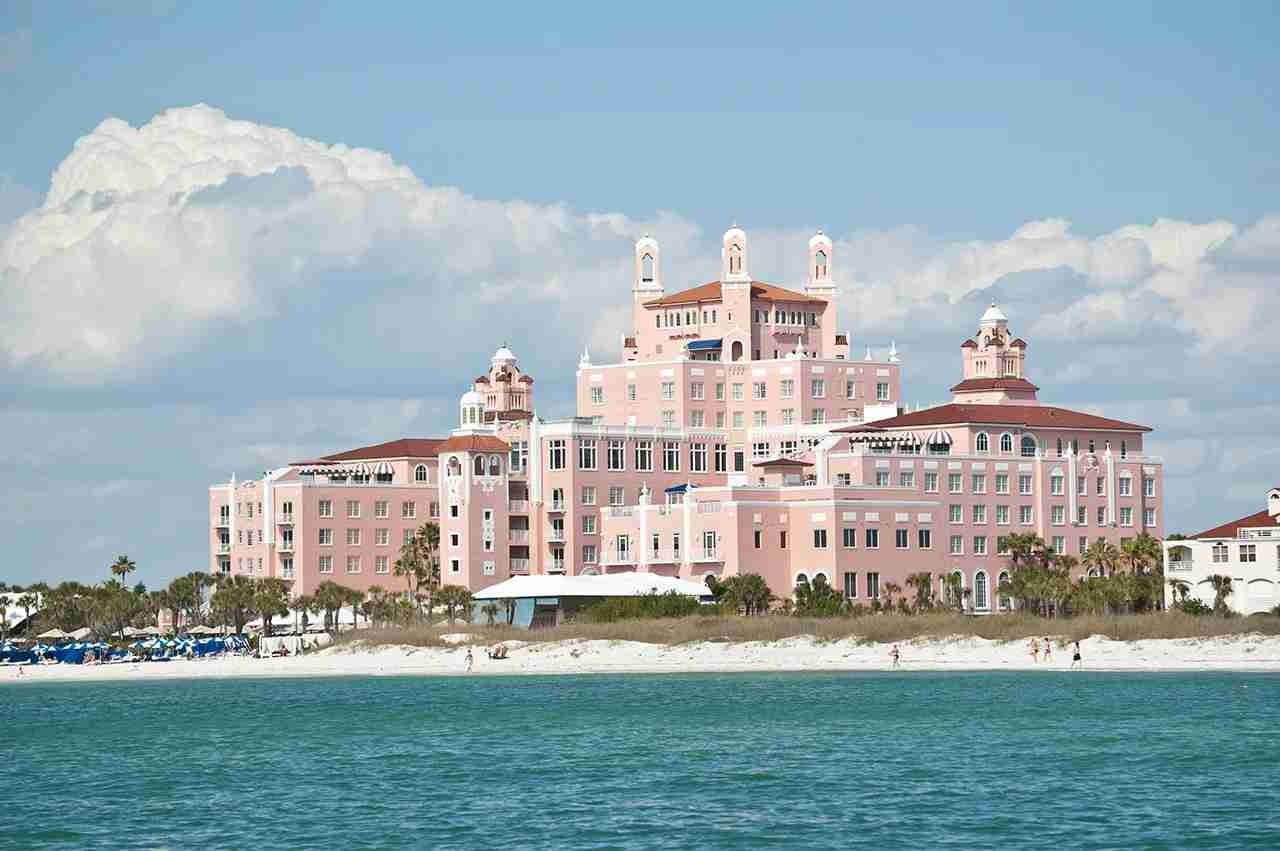 The Don CeSar Resort on St. Pete Beach, Florida. (Photo by BrianGuest / Getty Images)