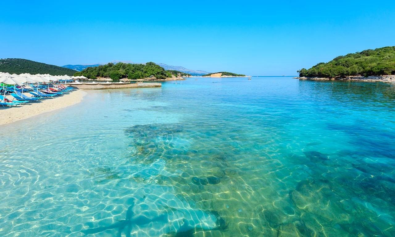 Ksamil Beach, Albania. (Photo by j-wildman / Getty Images)