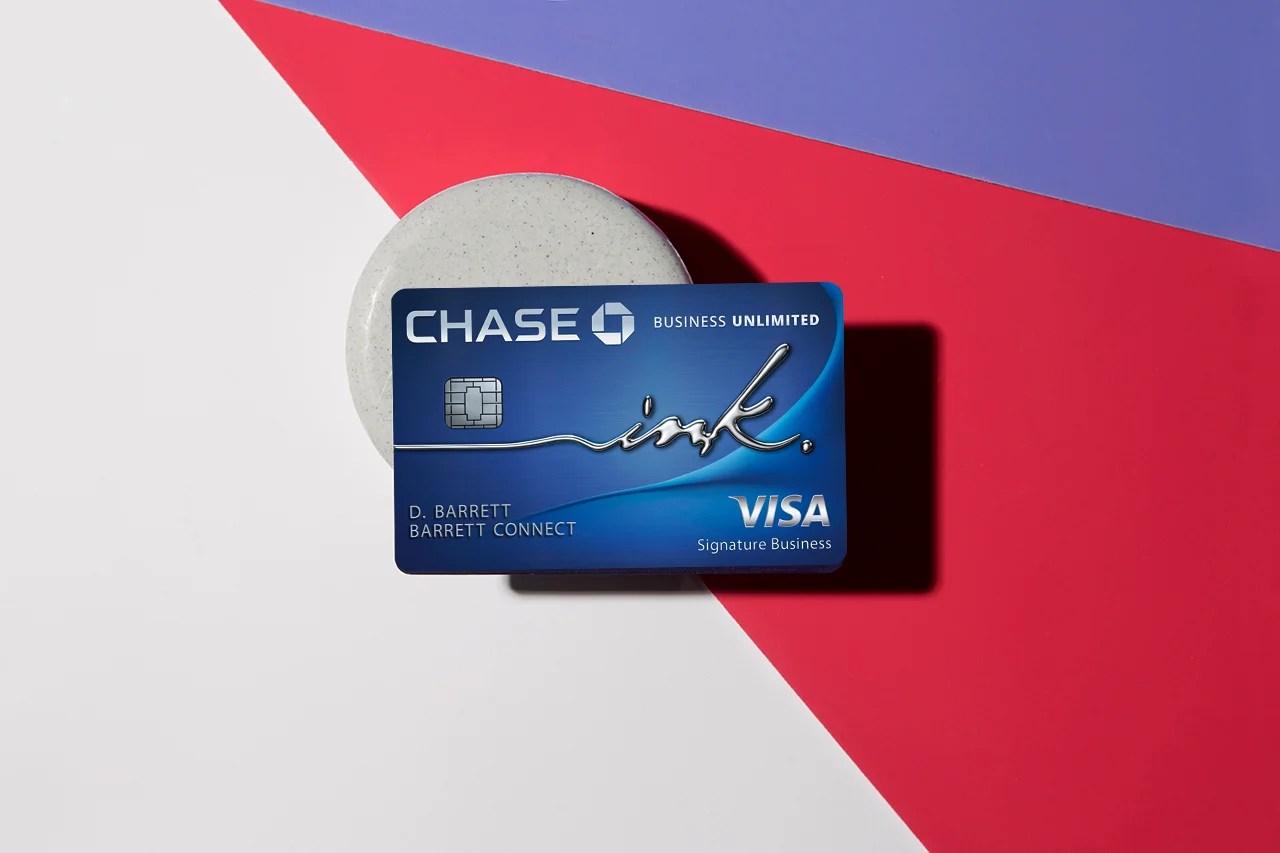 chase ink business unlimitedsm credit card