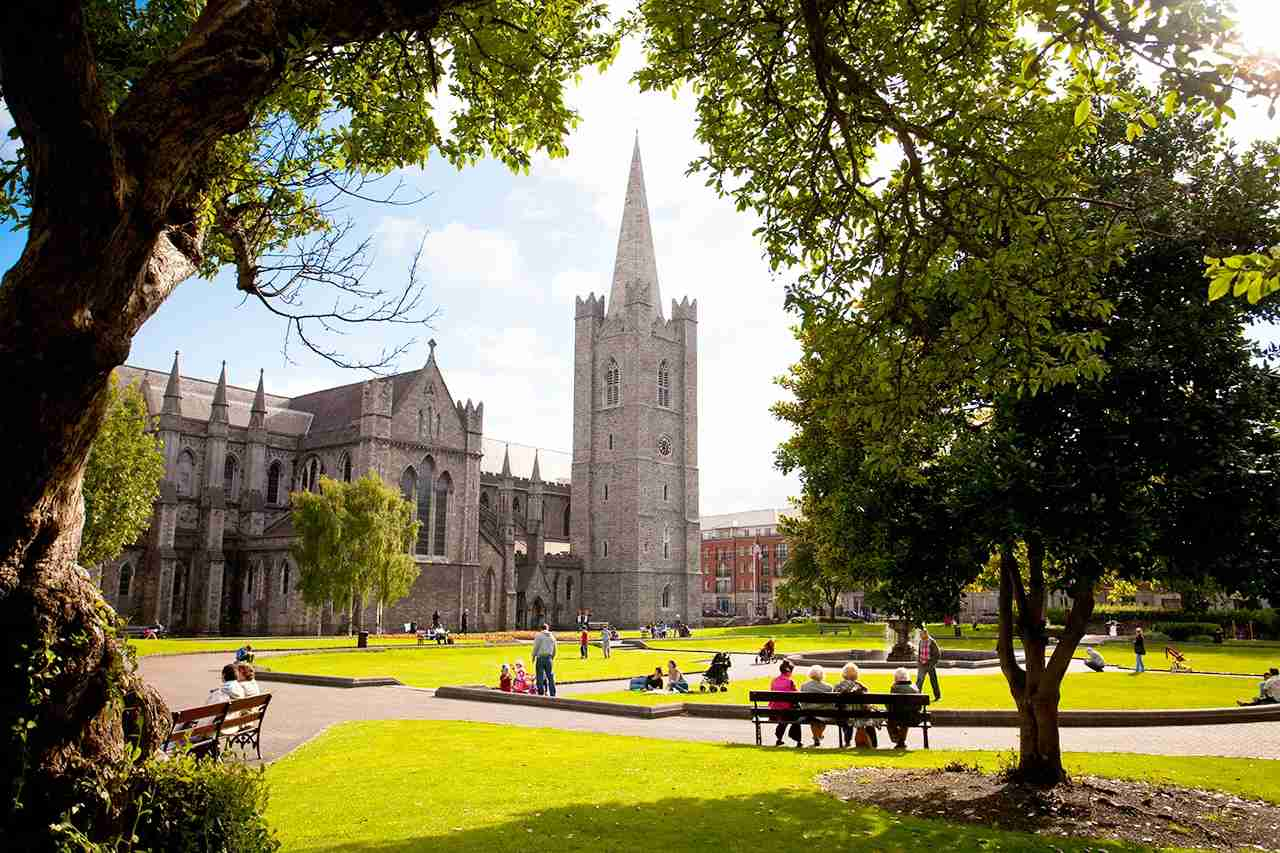 Pay a visit to St. Patrick