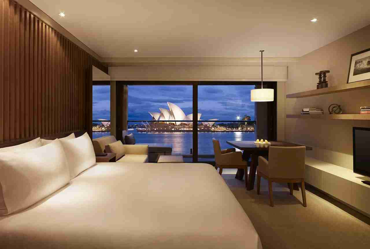 Even if it was an accident, the Park Hyatt Sydney was a real treat