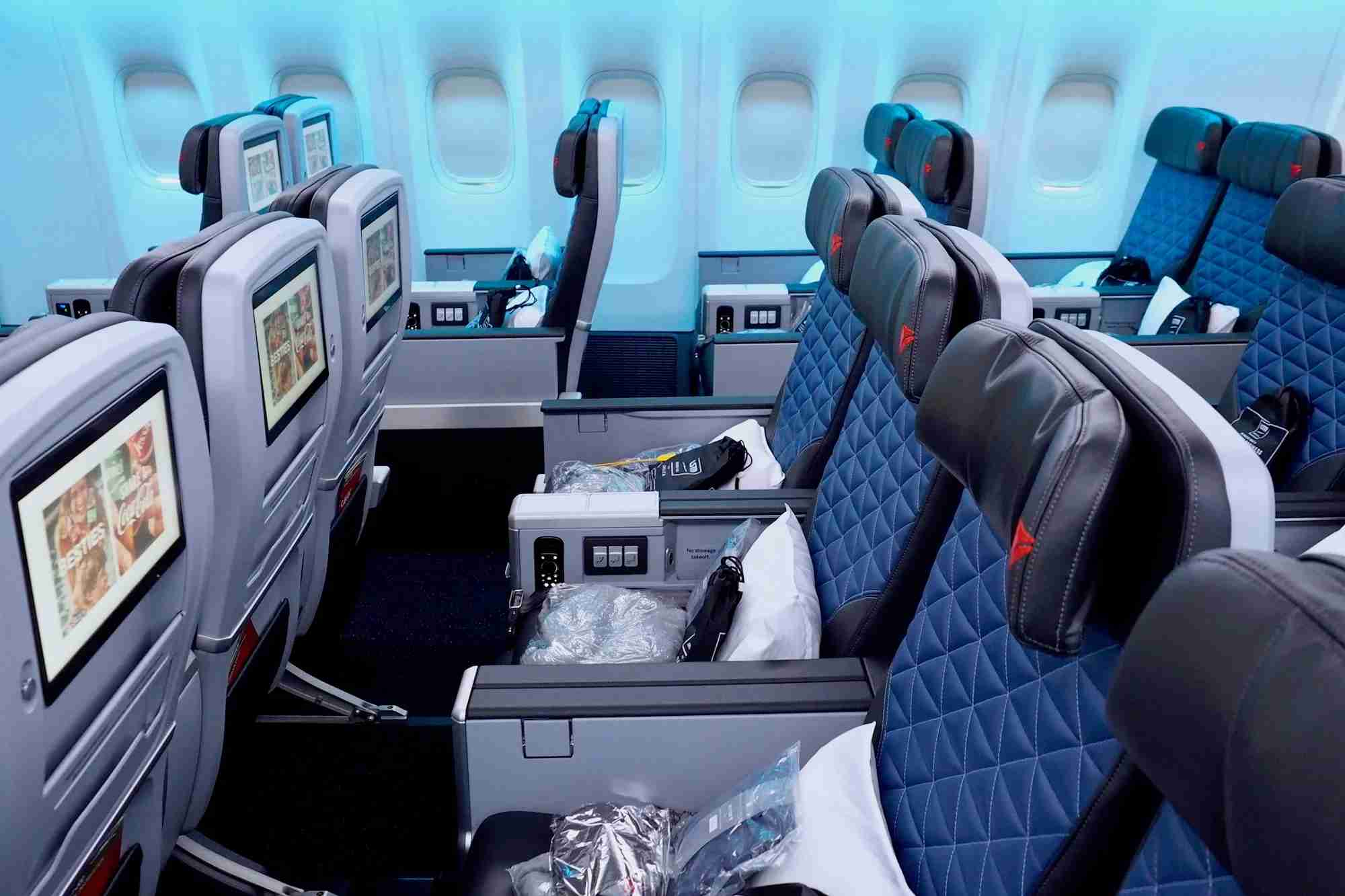 Delta Premium Select on a refurbished Boeing 777