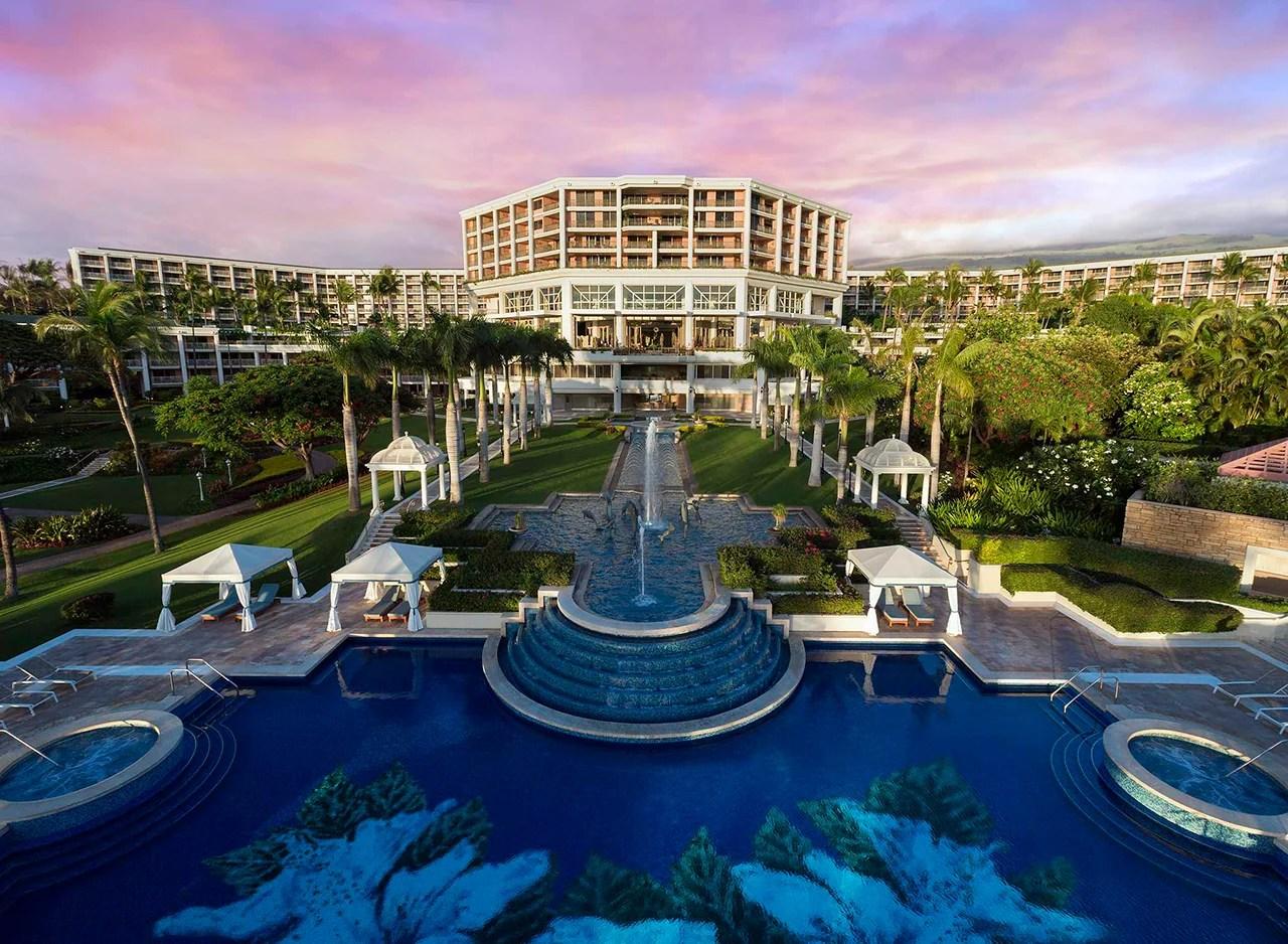 Photo courtesy of the Grand Wailea Resort Hotel & Spa, A Waldorf Astoria Resort.