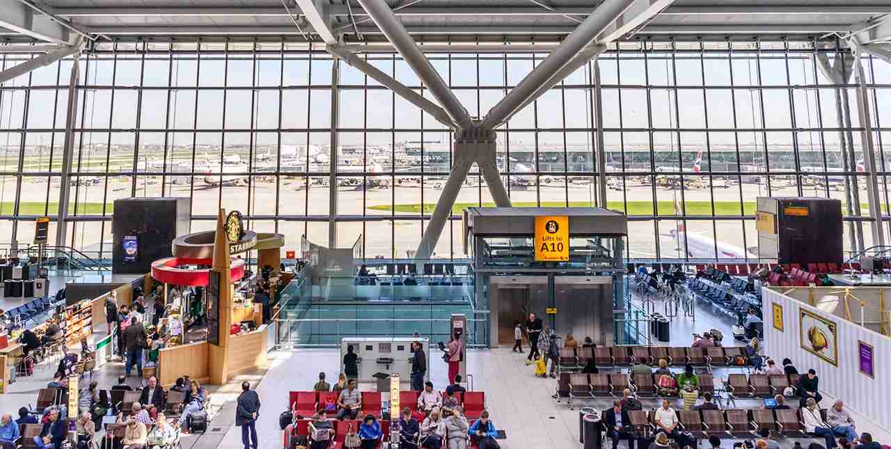 Heathrow Terminal 5. (Photo by BrasilNut1 / Getty Images)