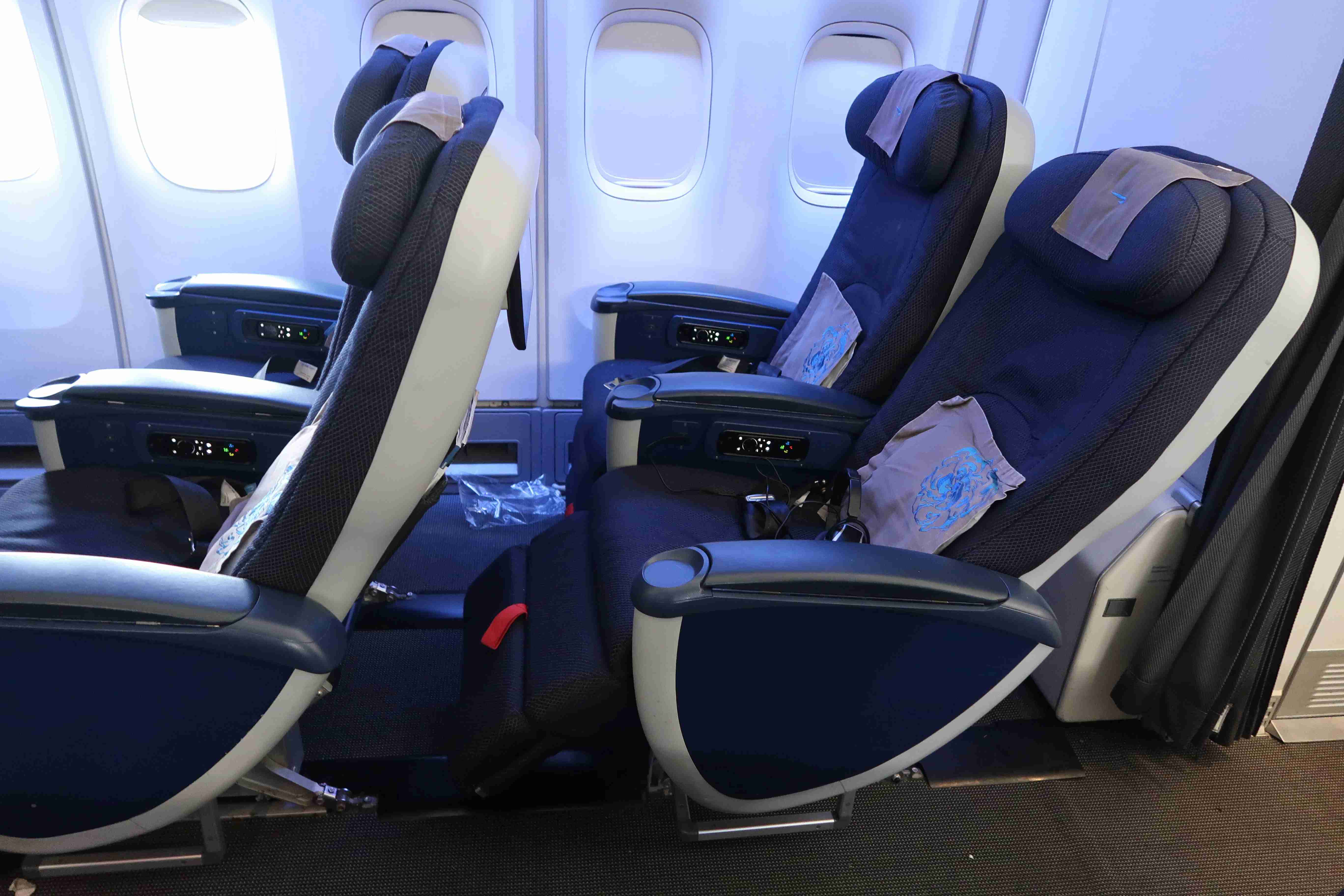 British Airways Premium Economy on its 747. IMage by JT Genter / The Points Guy.