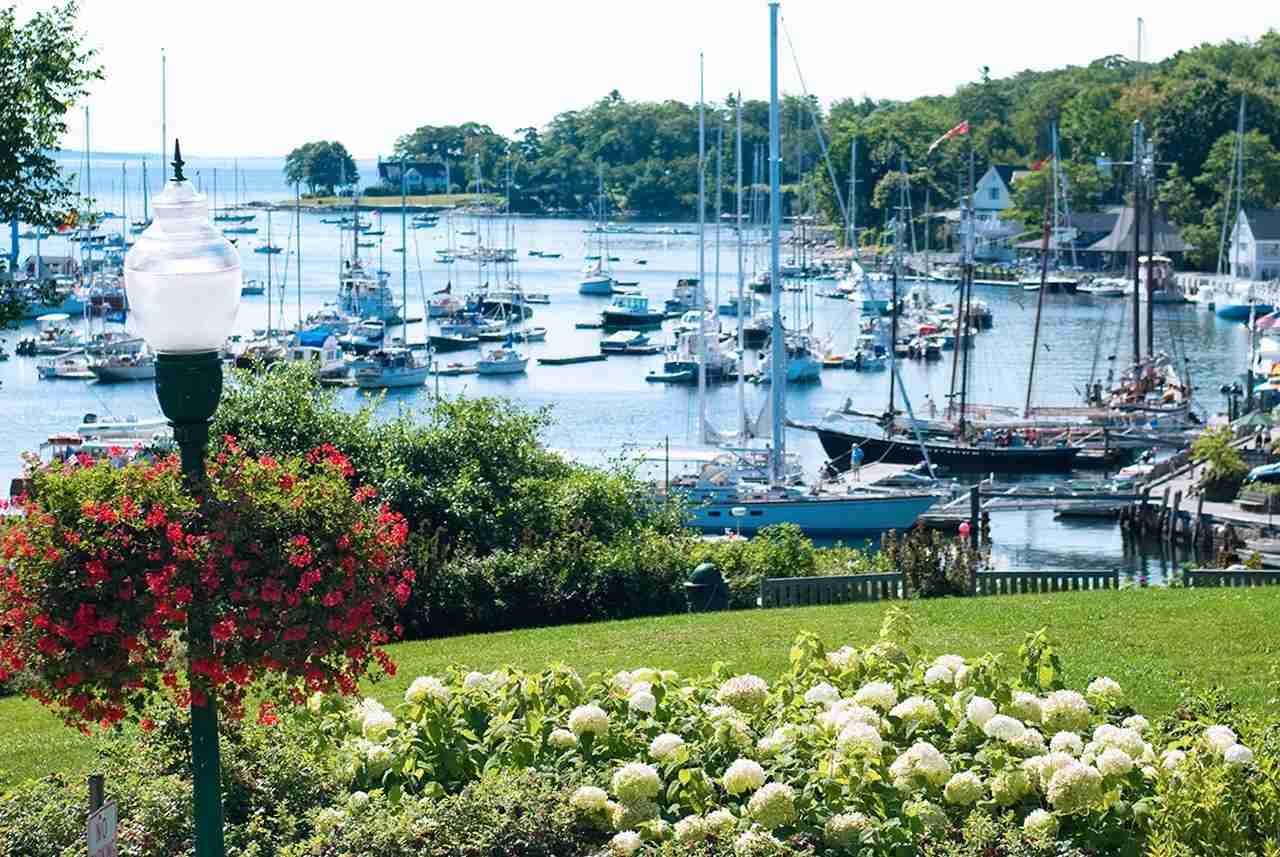 Harbor, Camden, Maine. (Photo by gregobagel / Getty Images)