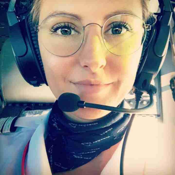 Meet Norwegian pilot Helen Van Dam.