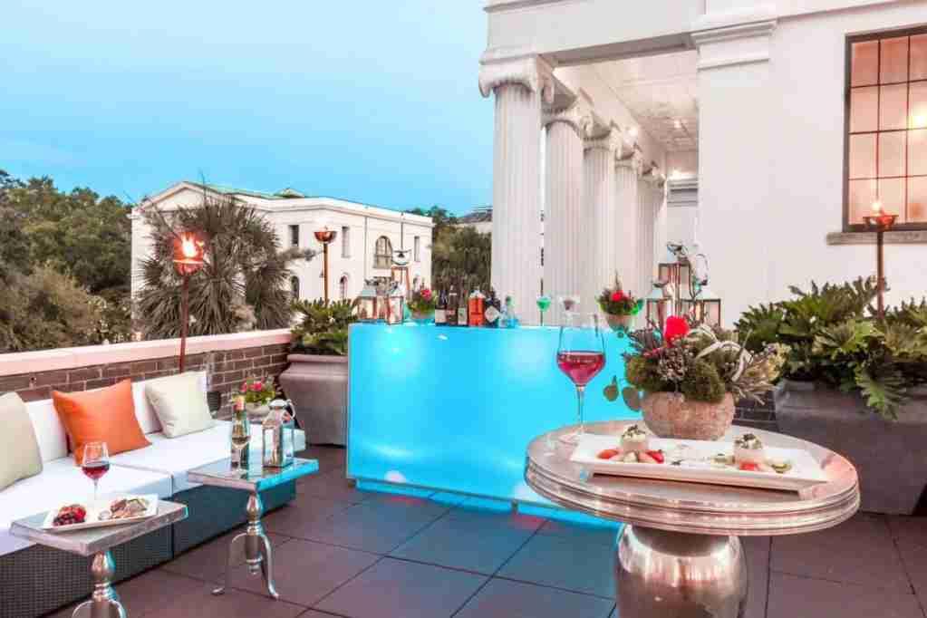 The Mills House Wyndham Grand Hotel, Charleston, SC. (Photo courtesy of The Mills House Wyndham Grand Hotel)