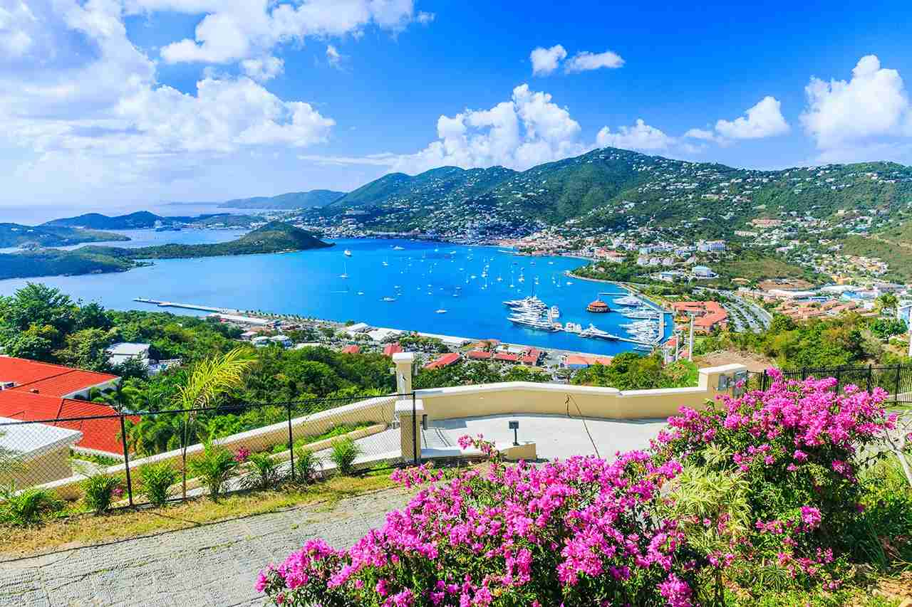 Caribbean, St Thomas US Virgin Islands. Panoramic view. (Photo by sorincolac / Getty Images)