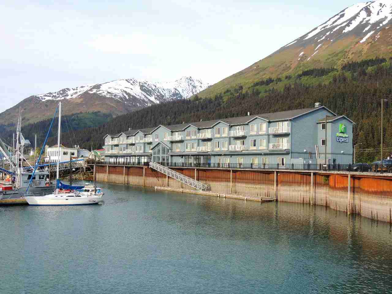 Stayed at Holiday Inn Express in Seward on IHG points.