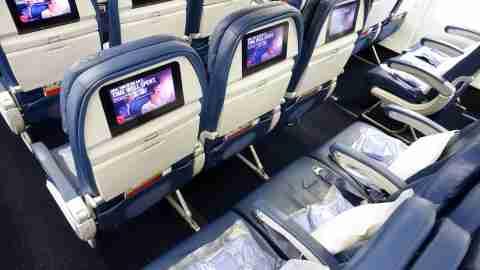 Delta 767 Seats