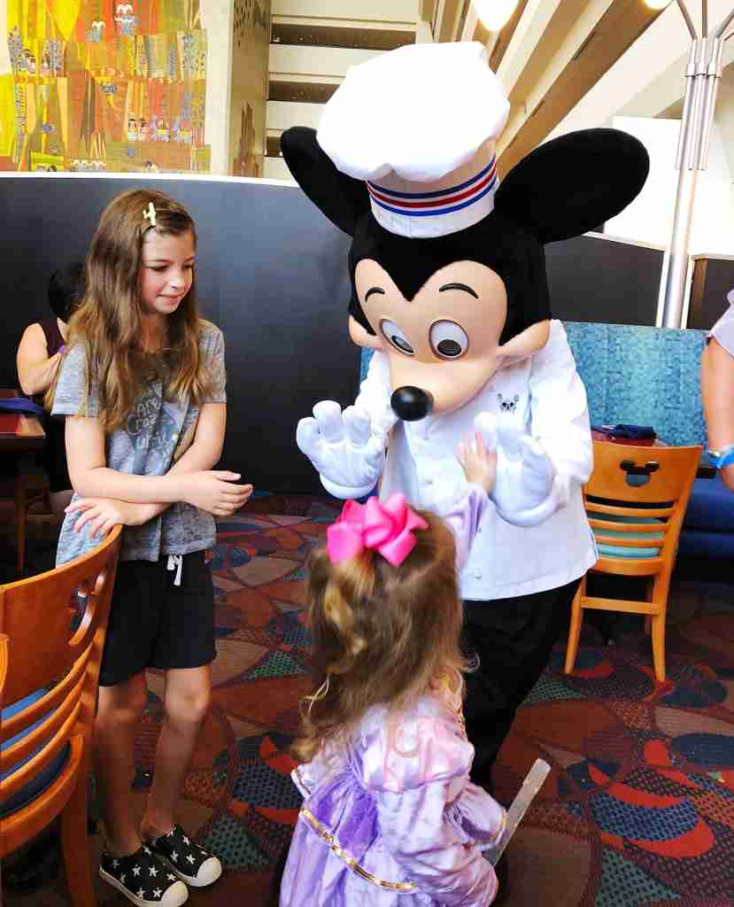 Meet and greet with Chef Mickey himself