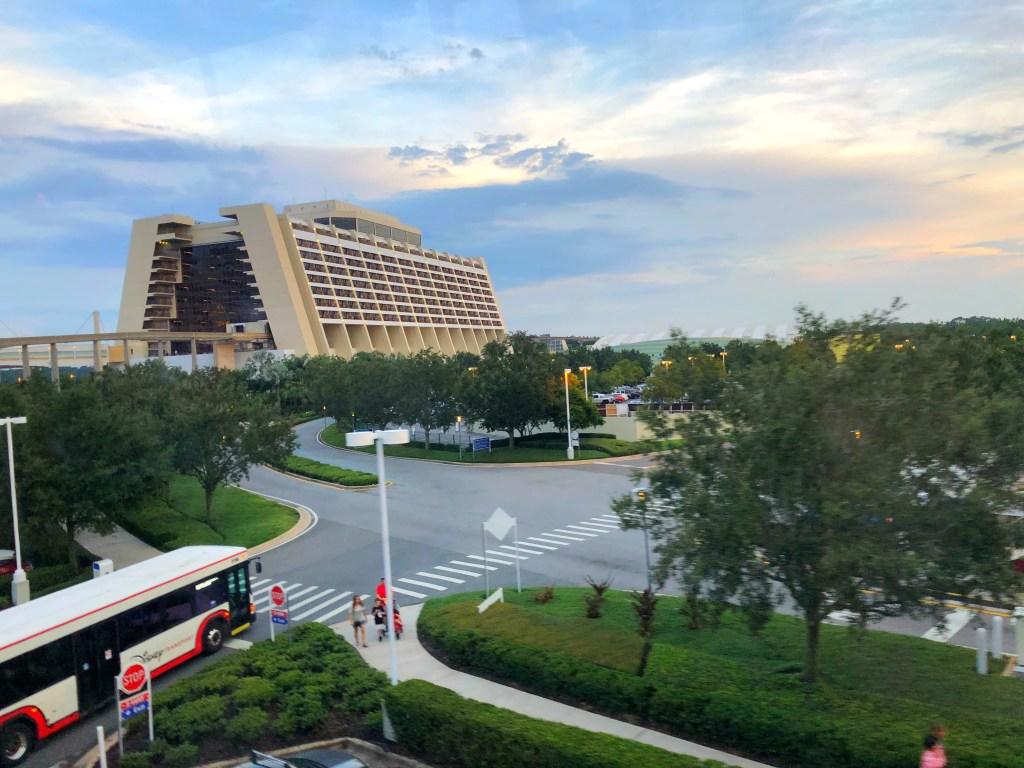 Monorail to Disney