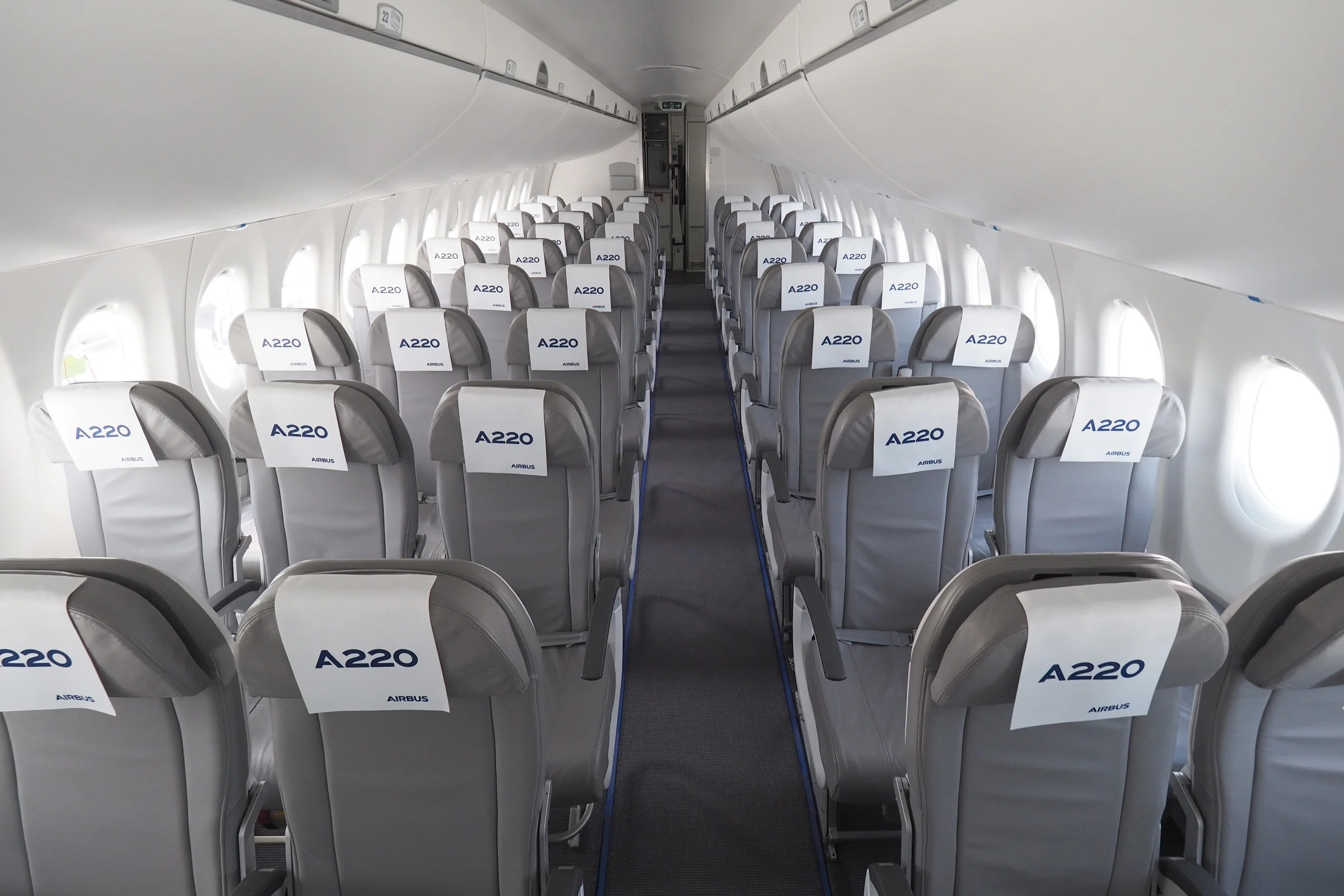 Comparing Economy Seat Pitch On The New Airbus A220 300