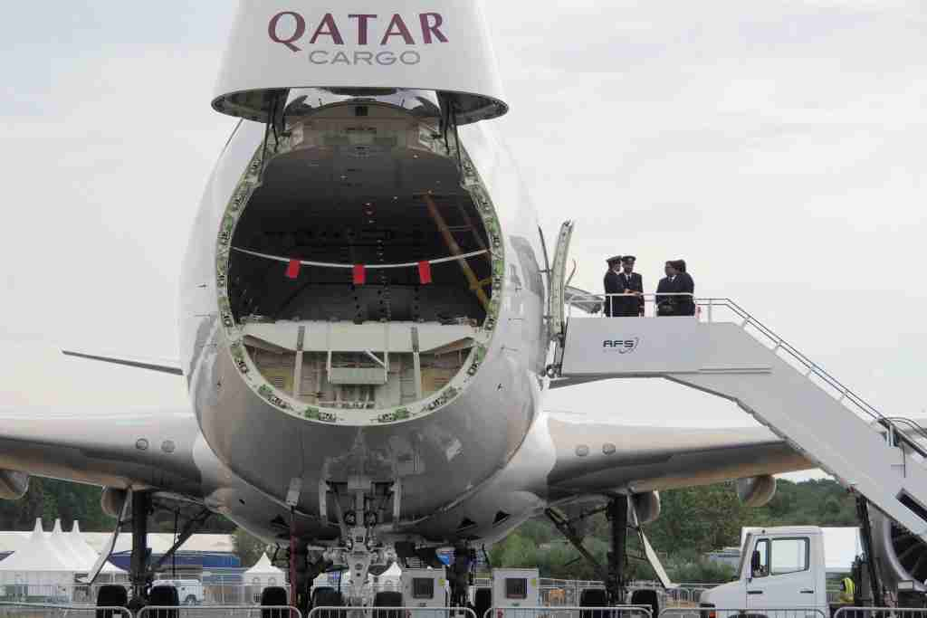 Life on the Upper Deck of Qatar's Boeing 747-8 Freighter