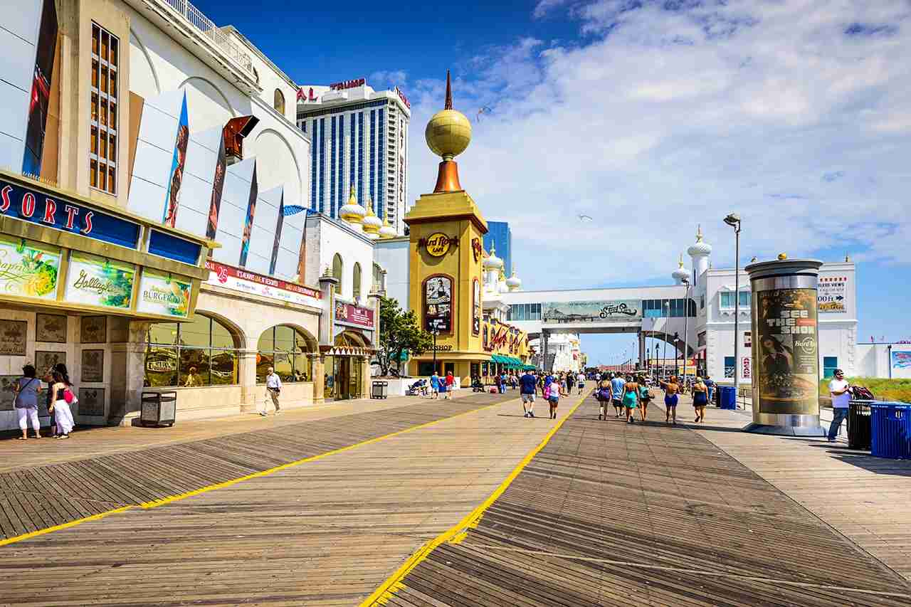 The boardwalk, Atlantic City, New Jersey. (Photo by SeanPavonePhoto / Getty Images)