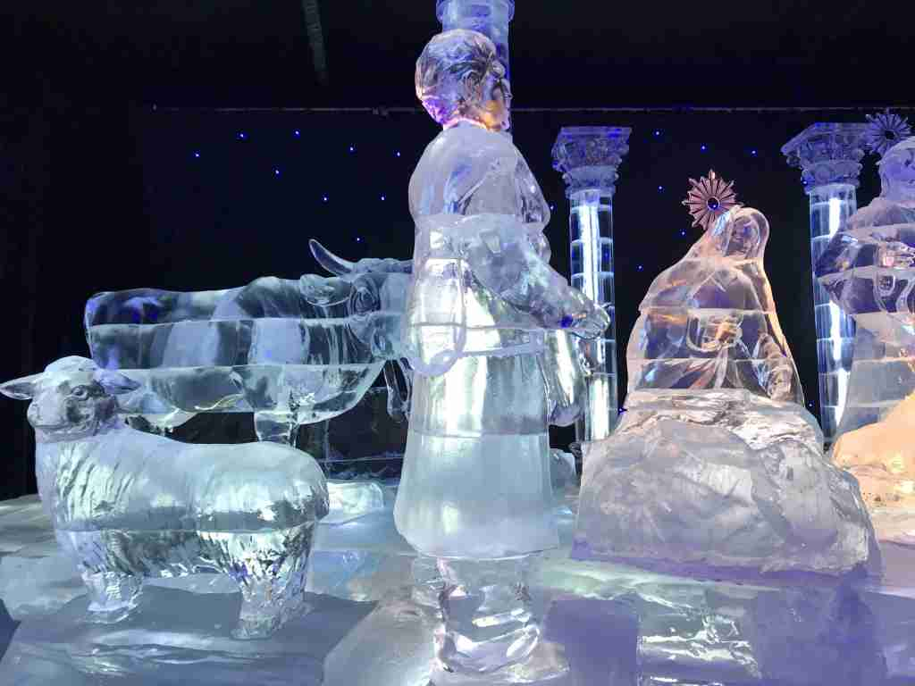 Inside the ICE Exhibit at the Gaylord Texan