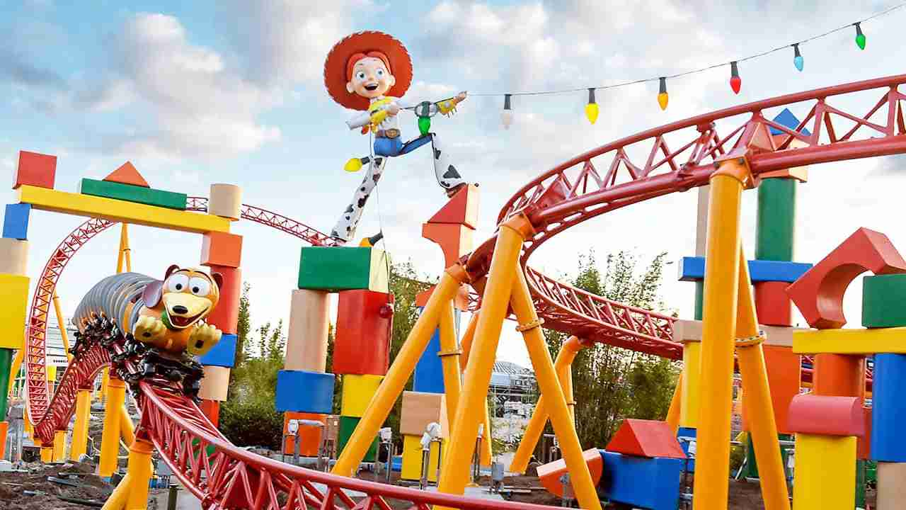 Experience the brand new ToyStory Land at Disney