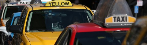 Cab Drivers Are Turning an SFO Parking Lot Into a Literal Dump