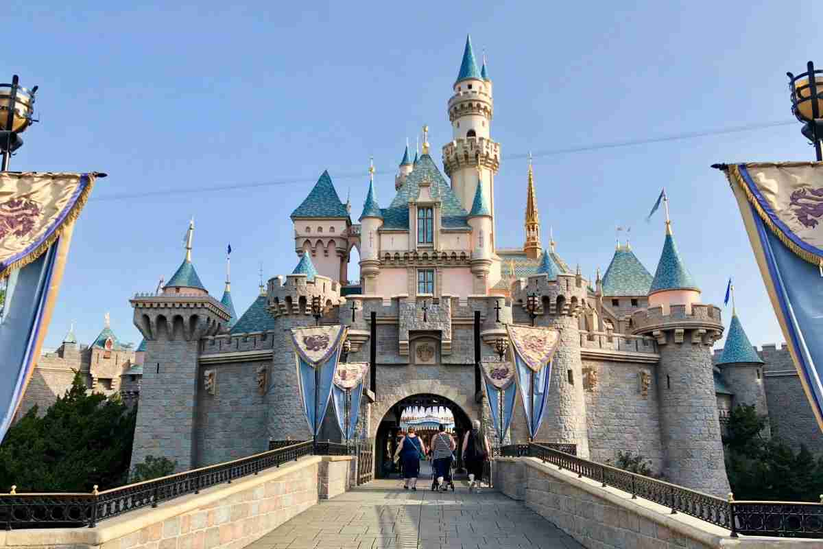 Be one of the first to enter Sleeping Beauty Castle if you arrive for rope drop.Image by Leslie Harvey.