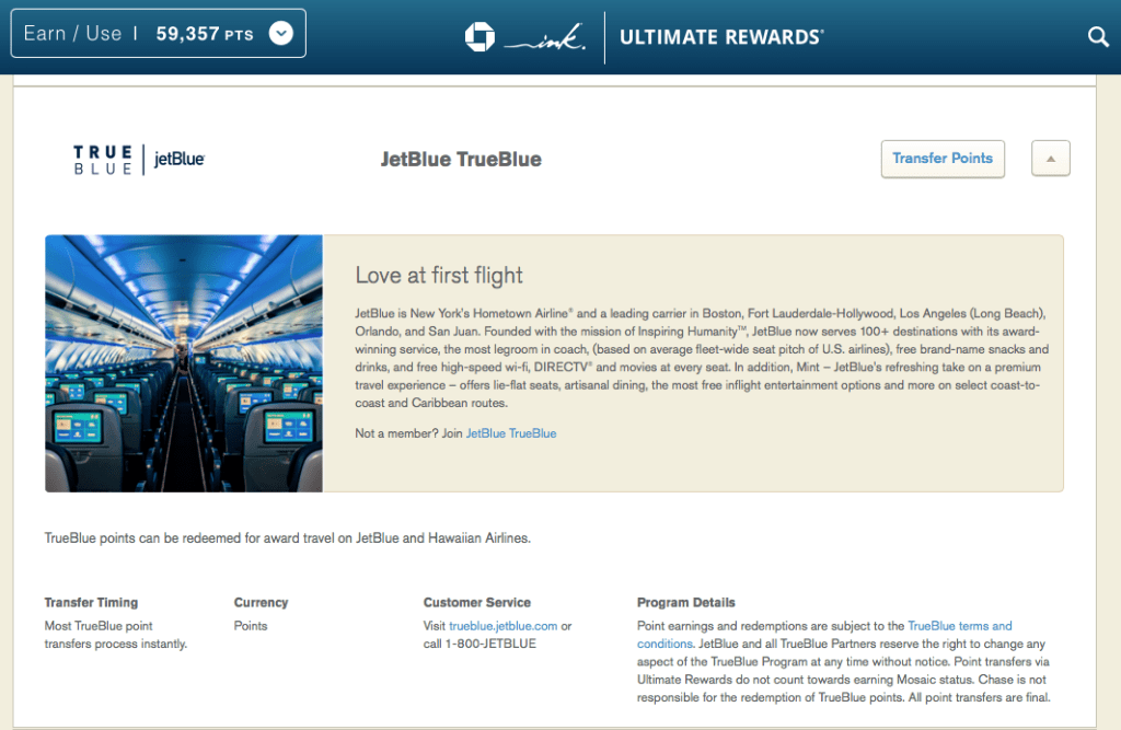 You Can Now Transfer Chase Ultimate Rewards to JetBlue